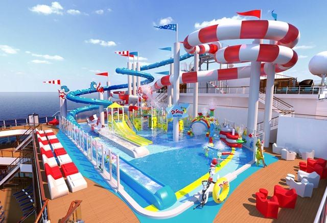 #Wasserpark,Carnival Cruise Line,Nidderau,Kreuzfahrt,