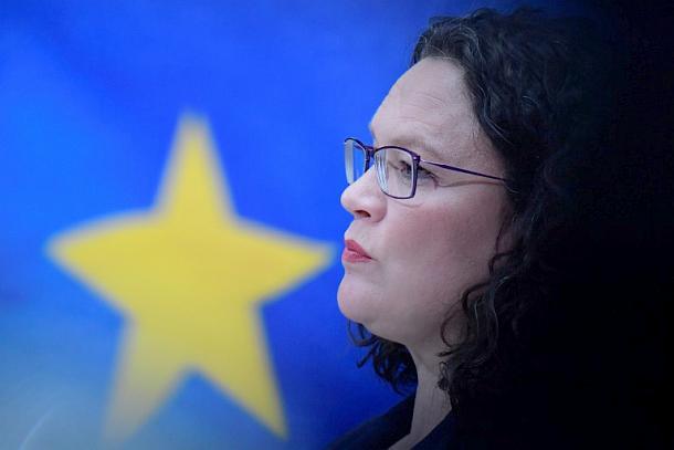 Andrea Nahles,Politik, Presse,Berlin
