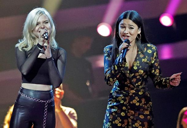 Duo S!sters,Eurovision Song Contest,Medien