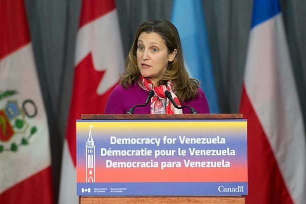 Chrystia Freeland,Venezuela,Presse,News