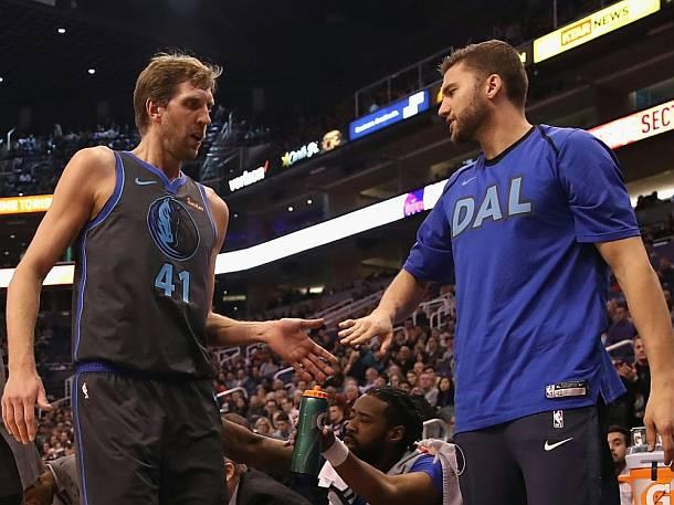 Sport, NBA,Maximilian Kleber,Dirk Nowitzki ,Presse,News