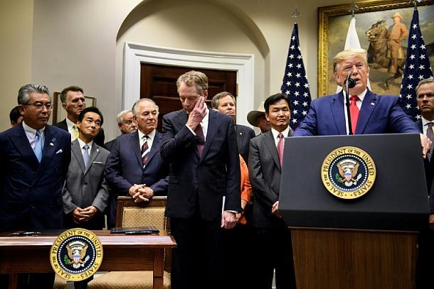 Japan,USA,Handelsabkommen,Politik,Presse,News,Medien