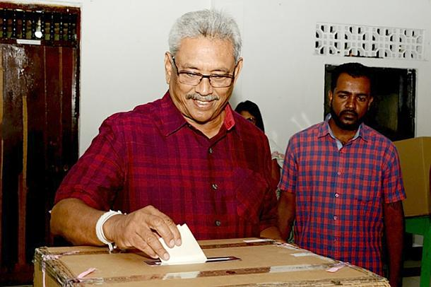 Gotabhaya Rajapakse,Wahlen,Sri Lanka,Presse,News,Medien
